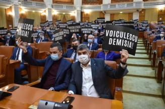 Motiunea impotriva lui Vlad Voiculescu, despusa de PSD la Parlament