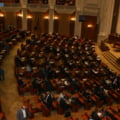 "Motiunea simpla ""Guvernul Ponta - fabrica de someri"", dezbatuta luni"
