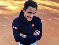 Motivul inedit pentru care Roger Federer a ales sa joace la Roma