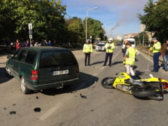 Motociclist accidentat in Oradea