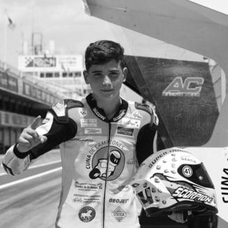 Motociclist de 14 ani, mort după un accident pe circuitul competiției European Talent Cup
