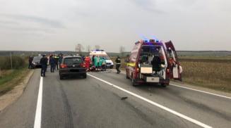 Motociclist de 15 ani, mort dupa ce a fost implicat intr-un accident rutier