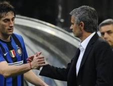Mourinho: Dintre Messi si Ronaldo il aleg pe Milito
