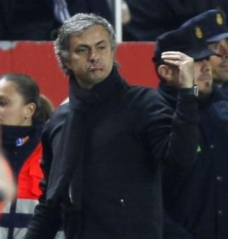 Mourinho a dat o noua lectie de fotbal