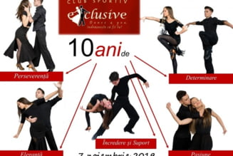 "Munca, talent, performanta - 10 ani de activitate ""Exclusive"""