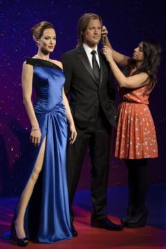Muzeul Madame Tussauds i-a despartit deja pe Angelina Jolie si Brad Pitt de ceara