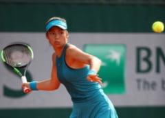 N-a mai vrut să joace! Imagini din meciul pe care Emma Răducanu l-a abandonat din senin, în sferturi de finală VIDEO