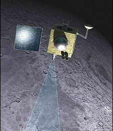 NASA: Exista gheata pe Luna!