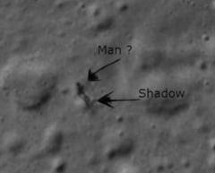 """NASA a descifrat misterul """"omului"""" aparut pe suprafata Lunii (Video)"""
