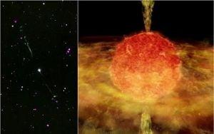 NASA a descoperit o stea canibal, care si-a mancat vecina