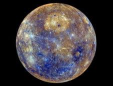 NASA a realizat o harta color a planetei Mercur