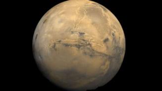 NASA are noi imagini spectaculoase de pe Marte: Marele Canion, in toata maretia sa!
