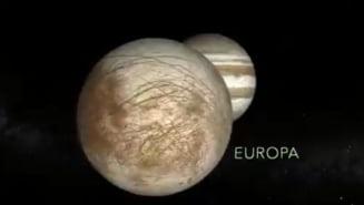 NASA face un anunt important cu privire la Europa, unul dintre satelitii lui Jupiter