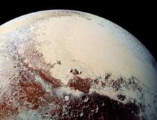 NASA ne arata planeta Pluto, de foarte aproape: Campii inghetate, munti de gheata (Video)
