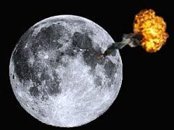 NASA nu a reusit sa faca Luna sa explodeze (Video)
