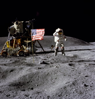 NASA nu mai trimite oameni pe Luna