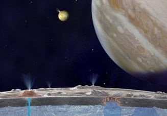 NASA nu poate explica misterul: Cum a disparut apa de pe Europa?