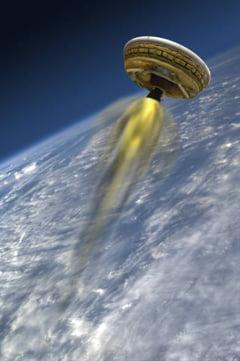 "NASA va testa o ""farfurie zburatoare"""