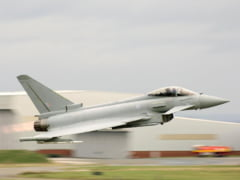 NATO muta strategic in fata amenintarii Rusiei: UK trimite avioane de lupta Typhoon in Romania
