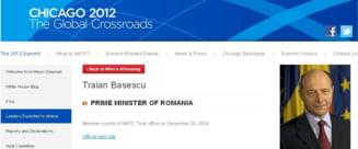 NATO s-a trezit - Basescu nu mai este premierul Romaniei!