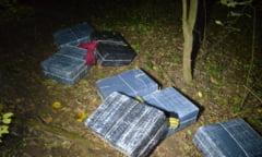 NOI CAPTURI - Mii de pachete de tigari confiscate la frontiera Maramuresului - GALERIE FOTO