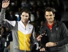 Nadal - Federer, primul joc de gala din 2011