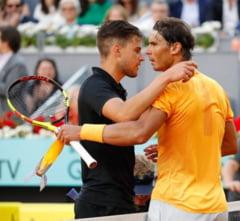Nadal, eliminat in sferturi la Madrid. Federer revine pe locul 1 ATP fara sa joace
