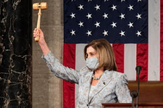 "Nancy Pelosi: ""Trump cel dezechilibrat, labil si periculos trebuie sa fie judecat"""