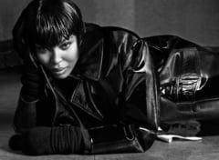 Naomi Campbell este imaginea firmei de lenjerie Agent Provocateur