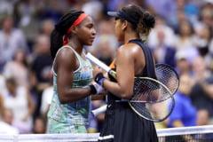 Naomi Osaka, demonstratie de forta la US Open, cu tanara speranta Coco Gauff