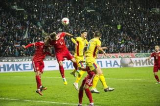 Nationala Romaniei, in cadere in clasamentul FIFA