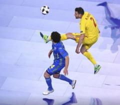 Nationala Romaniei pierde in ultimele secunde si e eliminata de la Campionatul European de futsal!