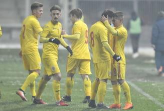 Nationala U19 a Romaniei invinge categoric Serbia la Turul de Elita