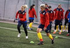 Nationala de fotbal feminin a Romaniei a fost spulberata in preliminariile pentru EURO 2021