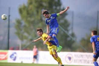 Nationala de tineret a Romaniei obtine o victorie minunata. Gol fantastic pentru Ianis Hagi