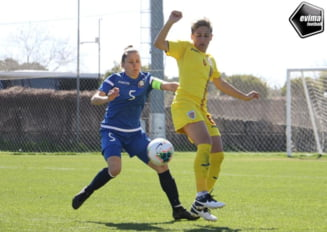 Nationala feminina de fotbal a Romaniei, invinsa categoric de Ungaria