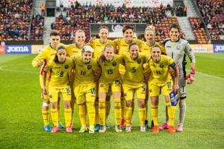 Nationala feminina de fotbal a Romaniei a ratat dramatic calificarea la Campionatul European