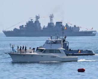 Nave si aeronave militare din Italia, Ucraina si SUA, la manifestarile de Ziua Marinei de la Constanta