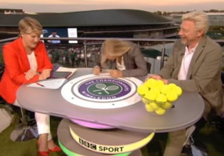 Navratilova s-a dat cu capul de masa cand a auzit explicatiile Simonei Halep dupa infrangerea de la Wimbledon (Video)