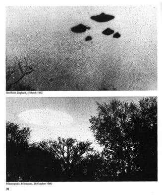 Ne pregateste CIA pentru marele anunt? Agentia americana a publicat fotografii cu OZN-uri