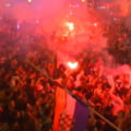 Nebunie in Croatia dupa calificarea in semifinalele Cupei Mondiale