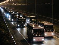 Nebunie in Grecia! Sute de autocare au plecat spre o finala cu un roman pe teren