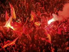 Nebunie pe strazile Barcelonei, dupa castigarea Ligii Campionilor (Video)