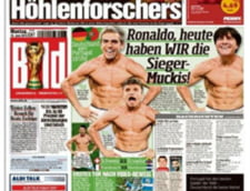 Nemtii il ironizeaza pe Cristiano Ronaldo