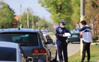 Nereguli sanctionate de politisti. Intr-o singura zi s-au aplicat 170 de amenzi