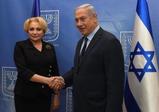 Netanyahu a amanat sedinta comuna de guvern Romania - Israel, fara a stabili o alta data