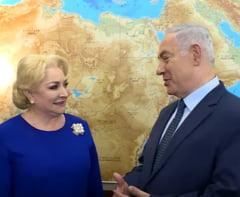 Netanyahu i-a cerut lui Dancila sa ne mutam ambasada la Ierusalim si sa sustinem aceasta pozitie in UE. Raspunsul premierului (Video)