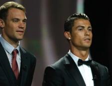 """Neuer """"il inteapa"""" pe Cristiano Ronaldo"""