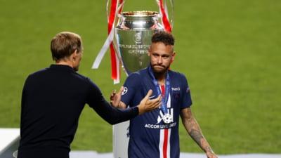 "Neymar: ""Infrangerea face parte din sport, am facut tot ce am putut"""