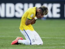 Neymar, in pericol sa rateze jocul in fata Columbiei la CM 2014. Ce accidentare a suferit